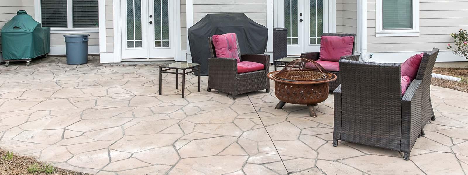 poured concrete patio columbus ohio